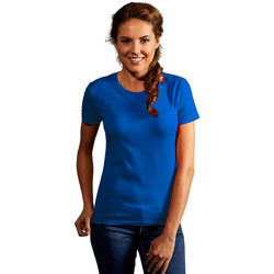 Vêtements Femme T-shirts manches courtes Promodoro T-shirt Premium Femmes bleu roi