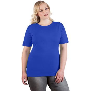 Vêtements Femme T-shirts manches courtes Promodoro T-shirt Premium grandes tailles Femmes bleu roi