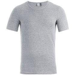 Vêtements Homme T-shirts manches courtes Promodoro T-shirt slim Hommes gris foncé-mélange