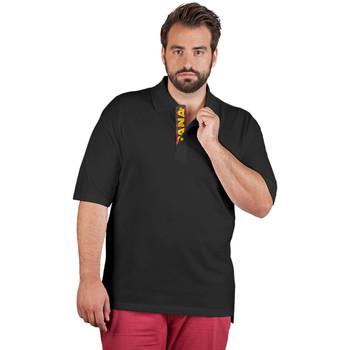 Vêtements Homme Polos manches courtes Promodoro Polo supérieur Fan Espagne grandes tailles Hommes noir