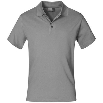 Vêtements Homme Polos manches courtes Promodoro Polo supérieur Hommes gris clair