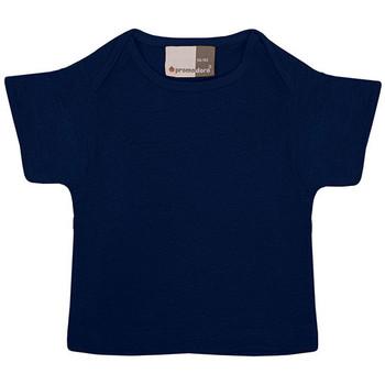 Vêtements Enfant T-shirts manches courtes Promodoro T-shirt bébé en coton Enfants bleu marine