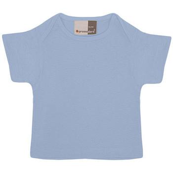 Vêtements Enfant T-shirts manches courtes Promodoro T-shirt bébé en coton Enfants bleu clair