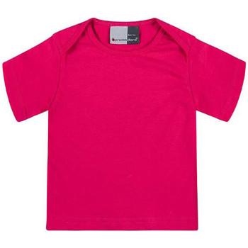 Vêtements Enfant T-shirts manches courtes Promodoro T-shirt bébé en coton Enfants fushia