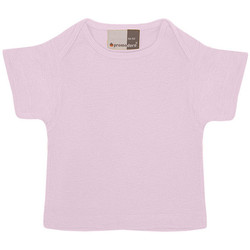 Vêtements Enfant T-shirts manches courtes Promodoro T-shirt bébé en coton Enfants rose clair