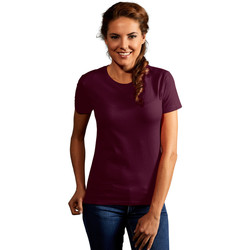 Vêtements Femme T-shirts manches courtes Promodoro T-shirt Premium Femmes bourgogne