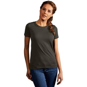 Vêtements Femme T-shirts manches courtes Promodoro T-shirt Premium Femmes kaki