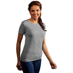Vêtements Femme T-shirts manches courtes Promodoro T-shirt Premium Femmes gris clair