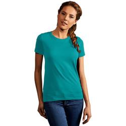 Vêtements Femme T-shirts manches courtes Promodoro T-shirt Premium Femmes vert jade