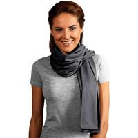 Accessoires textile Femme Echarpes / Etoles / Foulards Promodoro Echarpe unisexe Hommes et Femmes gris acier