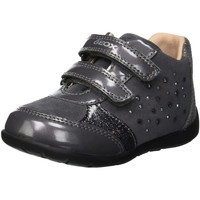 Chaussures Fille Baskets basses Geox B Kaytan A Gris
