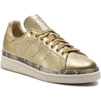 Chaussures Femme Baskets basses adidas Originals adidas Stan Smith New Bold W Doré