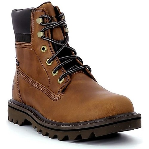 Chaussures Homme Boots Caterpillar Deplete Wp MARRON