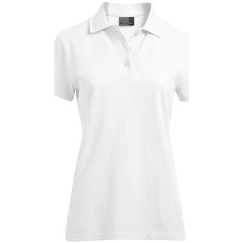 Vêtements Femme Polos manches courtes Promodoro Polo supérieur Femmes blanc