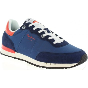 Chaussures Homme Baskets basses Pepe jeans PMS30505 TINKER Azul