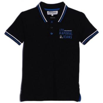 Vêtements Garçon Polos manches courtes Kaporal Polo Garçon Arick Noir Noir
