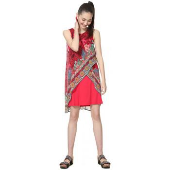 Vêtements Femme Robes courtes Desigual Robe Monique Rouge 19SWVW78