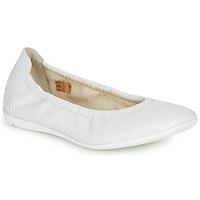Chaussures Fille Ballerines / babies Ramdam LIBRE Blanc