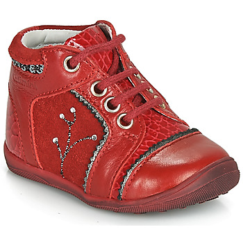 Chaussures Fille Boots Catimini CALINE Rouge
