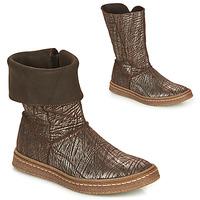 Chaussures Fille Bottes ville Ramdam CRACOVIE Marron