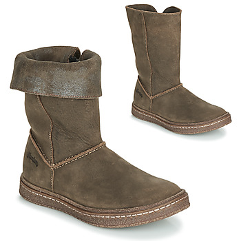 Chaussures Fille Bottes ville Ramdam CRACOVIE Kaki