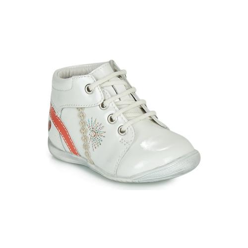 Chaussures Fille Boots GBB MELANIE Blanc