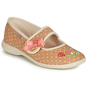 Chaussures Fille Chaussons GBB MELINA Beige