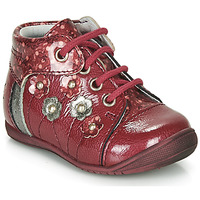 Chaussures Fille Boots GBB NAYANA Rouge