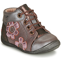 Chaussures Fille Boots GBB NEIGE Violet / Rose