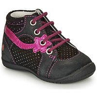 Chaussures Fille Boots GBB NOEMIE Noir