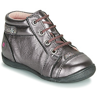 Chaussures Fille Boots GBB NICOLE Violet / Rose