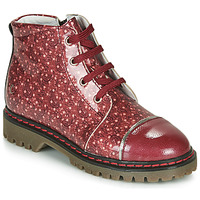 Chaussures Fille Boots GBB NEVA Rouge