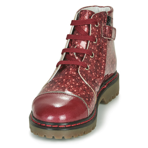 Fille Chaussures Neva Boots Gbb Rouge VpGLUzMqS