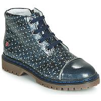 Chaussures Fille Boots GBB NEVA Bleu