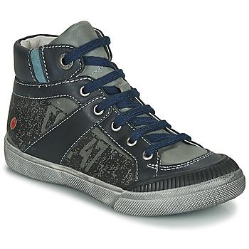 Chaussures Garçon Boots GBB NESTOR Kaki / Marine