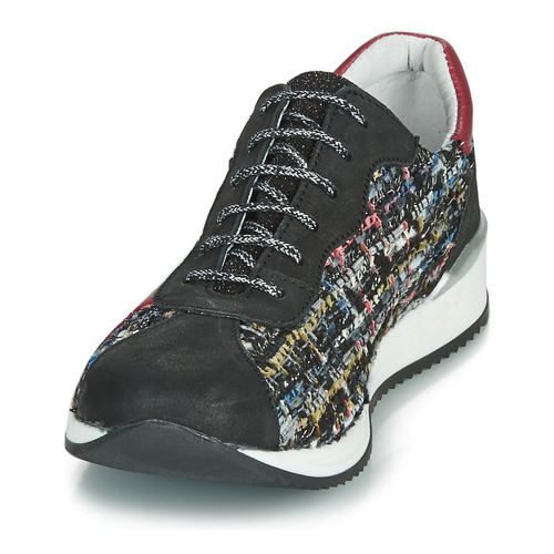 Baskets Basses Fille NoirRouge Multicolor Achile Laura Chaussures lKJ315cuTF