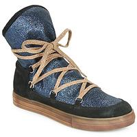Chaussures Fille Bottes ville Achile ANGELA Bleu