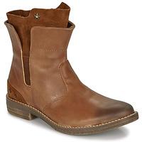 Chaussures Fille Boots Ikks PAMELA Cognac