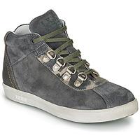 Chaussures Garçon Boots Ikks ISAAC Gris / Kaki