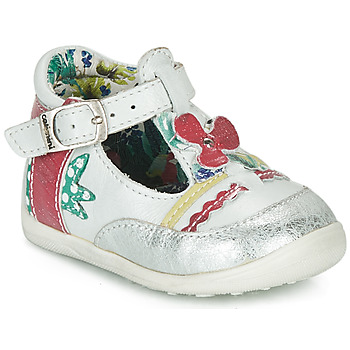 Chaussures Fille Sandales et Nu-pieds Catimini PALOMINO Blanc / Rose
