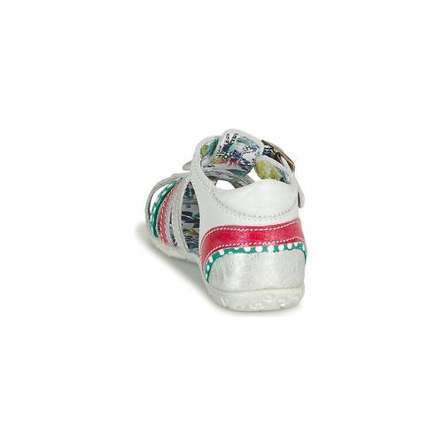 Chaussures Fille Catimini Persan BlancMulticolor Sandales Et Nu pieds VpzUGqMS