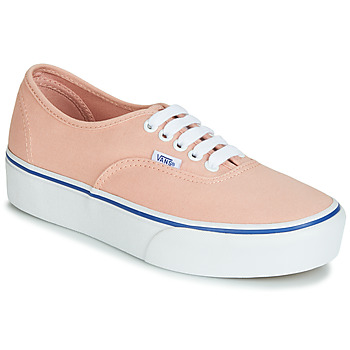 Chaussures Femme Baskets basses Vans AUTHENTIC PLATFORM 2.0 Rose