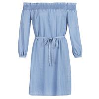 Vêtements Femme Robes courtes Only ONLSAMANTHA Bleu clair