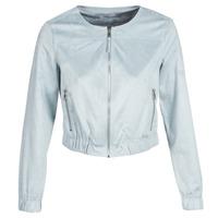 Vêtements Femme Vestes en cuir / synthétiques Only ONLLEONA Bleu