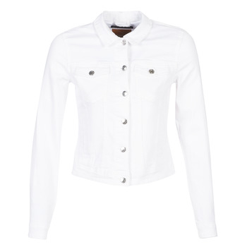 Vêtements Femme Vestes en jean Only ONLTIA Blanc