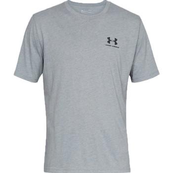 Vêtements Homme T-shirts manches courtes Under Armour Sportstyle Left Chest Tee Grise