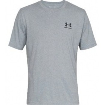 Vêtements Homme T-shirts manches courtes Under Armour Sportstyle Left Chest Ss gris