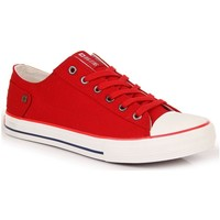 Chaussures Femme Baskets basses Big Star INT1092B rouge