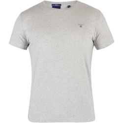 Vêtements Homme T-shirts manches courtes Gant Le t-shirt original gris