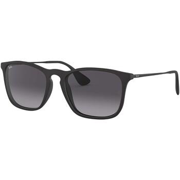 Montres & Bijoux Homme Lunettes de soleil Ray-ban RB4187 Chris Lunettes de soleil noir